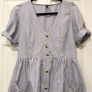 ZARA striped summer dress (M)